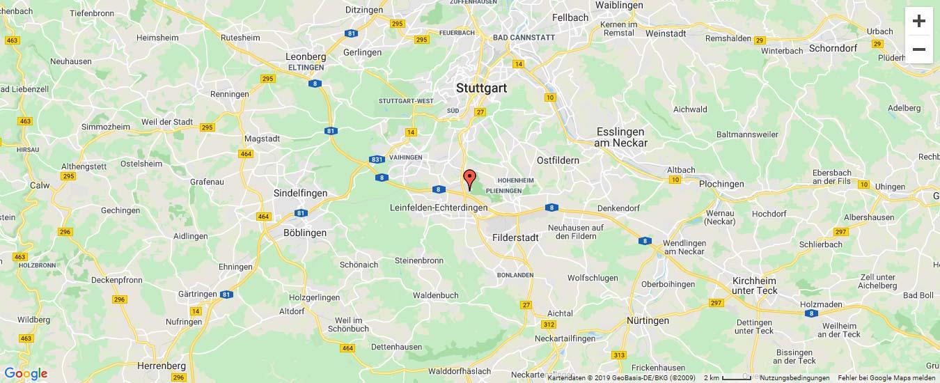 Google Maps Karte - intellior AG